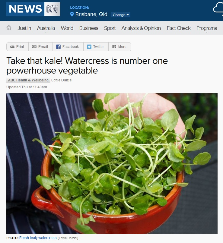Watercress article teaser